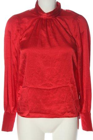 Vero Moda Blusa de manga larga rojo elegante