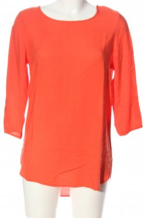 Vero Moda Langarm-Bluse hellorange Casual-Look