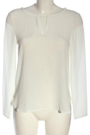 Vero Moda Langarm-Bluse wollweiß Elegant