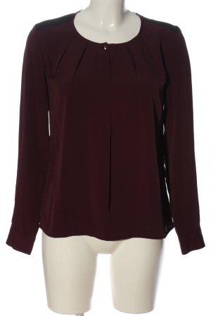 Vero Moda Langarm-Bluse lila Casual-Look