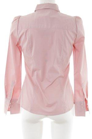 Vero Moda Langarm-Bluse pink-creme Business-Look