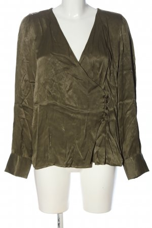Vero Moda Langarm-Bluse khaki Elegant