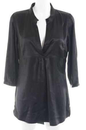 Vero Moda Langarm-Bluse schwarz Elegant