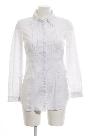 Vero Moda Langarm-Bluse weiß Streifenmuster Casual-Look