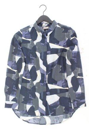 Vero Moda Langarmbluse Größe M geometrisches Muster mehrfarbig aus Polyester
