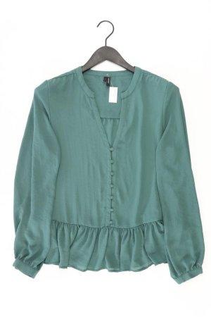 Vero Moda Langarmbluse Größe M grün aus Polyester