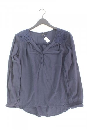 Vero Moda Langarmbluse Größe XXL blau aus Viskose