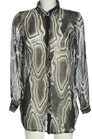 Vero Moda Langarmhemd abstraktes Muster Casual-Look