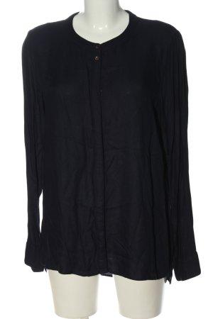 Vero Moda Langarmhemd schwarz Casual-Look