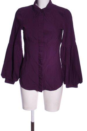 Vero Moda Langarmhemd lila Business-Look