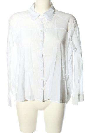 Vero Moda Langarmhemd weiß Casual-Look