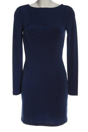 Vero Moda Langarmkleid blau Casual-Look