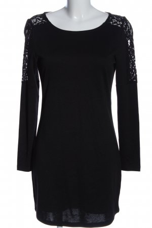 Vero Moda Langarmkleid schwarz klassischer Stil