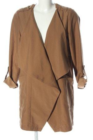 Vero Moda Lange Jacke bronzefarben Business-Look