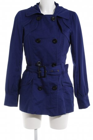 Vero Moda Lange Jacke blau Casual-Look