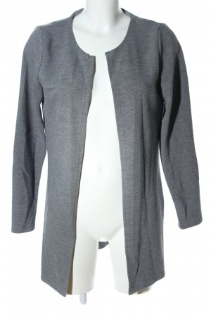 Vero Moda Veste longue gris clair moucheté style d'affaires