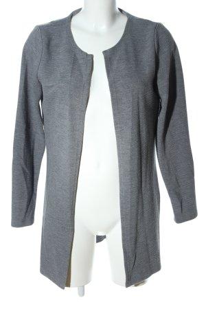 Vero Moda Lange Jacke hellgrau meliert Business-Look
