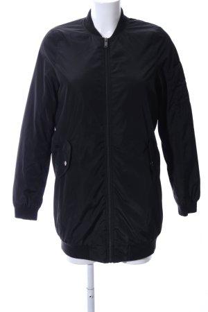 Vero Moda Lange Jacke schwarz Casual-Look