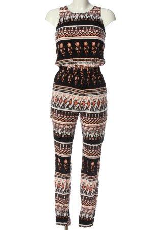 Vero Moda Langer Jumpsuit grafisches Muster Casual-Look