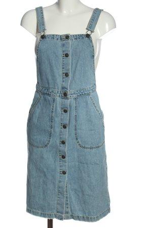 Vero Moda Overgooier overall rok blauw casual uitstraling