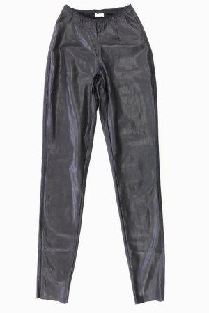 Vero Moda Leder Leggings Größe XS schwarz