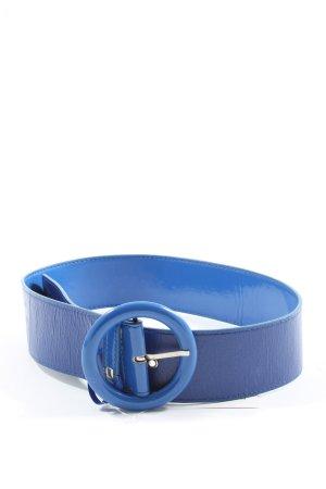 Vero Moda Cinturón de cuero de imitación azul look casual