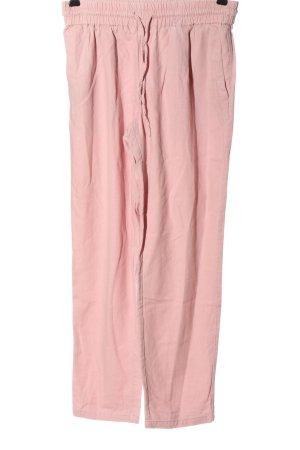 Vero Moda Leinenhose pink Casual-Look