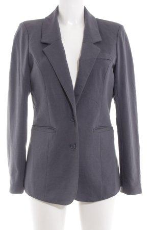Vero Moda Long-Blazer hellgrau Business-Look
