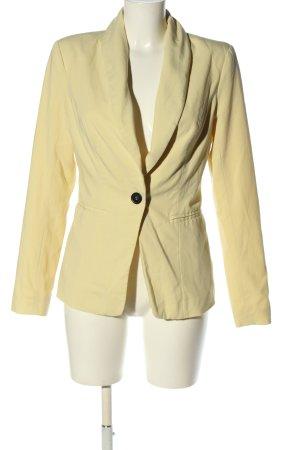 Vero Moda Long-Blazer blassgelb Casual-Look
