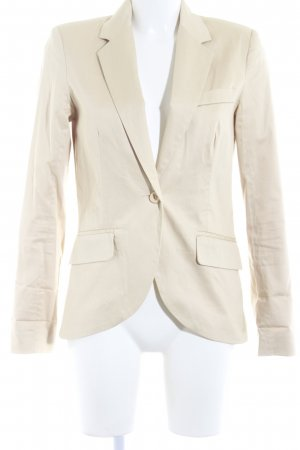 Vero Moda Long-Blazer creme Business-Look