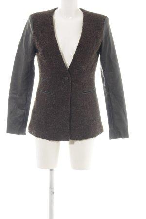 Vero Moda Long-Blazer braun-schwarz Casual-Look