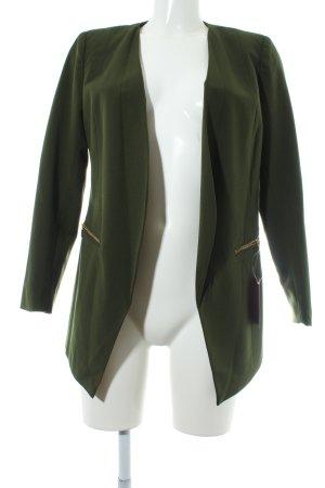 Vero Moda Long-Blazer dunkelgrün Business-Look