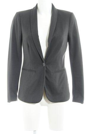 Vero Moda Long-Blazer grau Business-Look