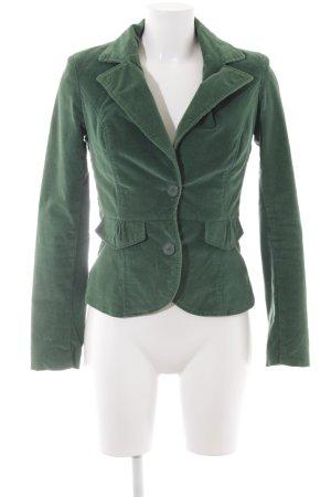 Vero Moda Long-Blazer grün Casual-Look