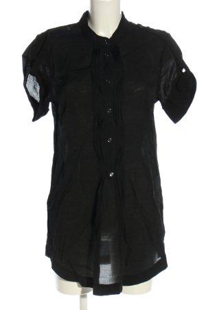 Vero Moda Long-Bluse schwarz Casual-Look