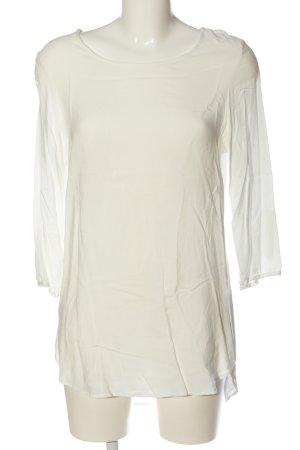 Vero Moda Long-Bluse creme Casual-Look