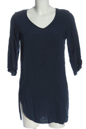 Vero Moda Schlupf-Bluse blau Casual-Look