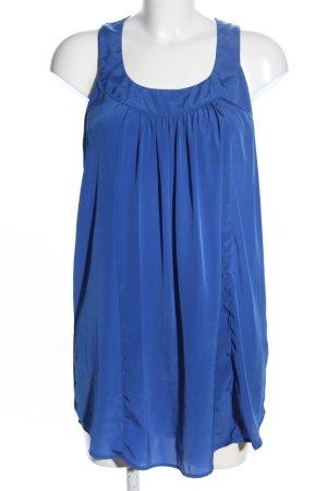 Vero Moda Long-Bluse blau Casual-Look