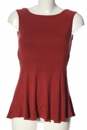 Vero Moda Long-Bluse rot Casual-Look