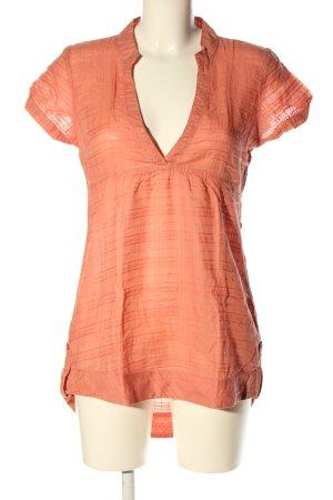 Vero Moda Long-Bluse hellorange Business-Look