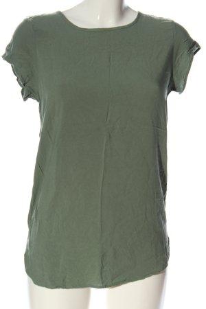 Vero Moda Long-Bluse khaki Casual-Look