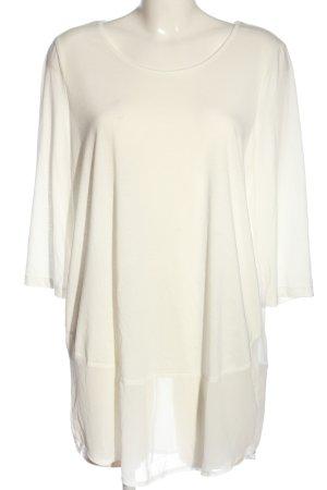 Vero Moda Long-Bluse wollweiß Casual-Look