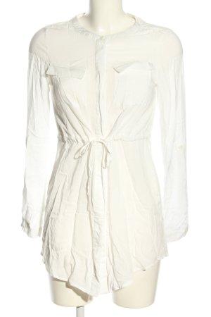 Vero Moda Long Blouse natural white casual look