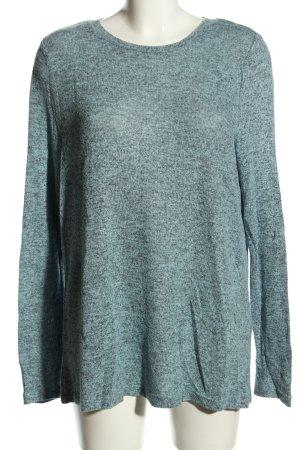 Vero Moda Longpullover blau meliert Casual-Look