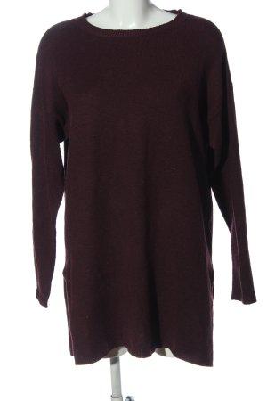 Vero Moda Long Sweater lilac casual look