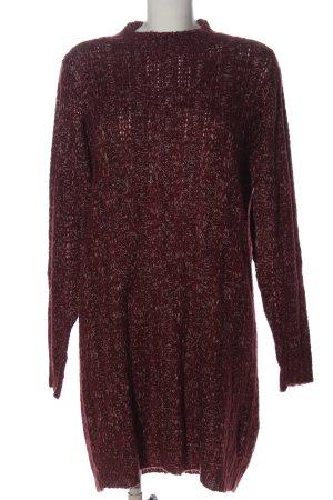 Vero Moda Swetrowa sukienka czerwony Melanżowy W stylu casual