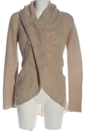 Vero Moda Cache-cœur en tricot brun style décontracté