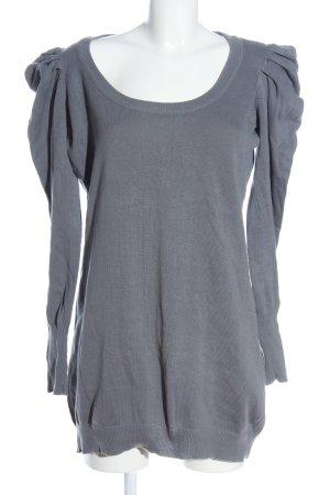 Vero Moda Long Sweater light grey casual look