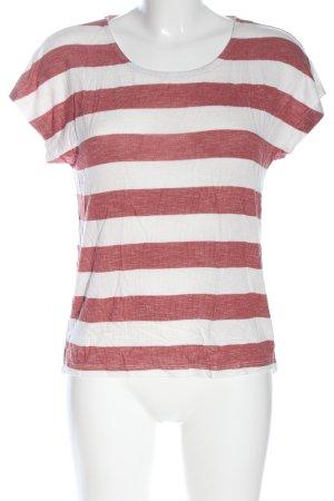 Vero Moda Longshirt rot-weiß Streifenmuster Casual-Look