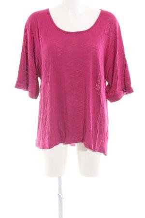 Vero Moda Longshirt pink meliert Casual-Look